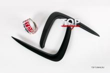 8786 Накладки на передний бампер Advance на Kia Rio 4