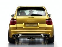 Накладка на багажник, обвес Tech Art Magnum 2, тюнинг Porsche Cayenne 957.