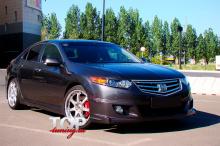 8816 Юбка на передний бампер Mugen ABS на Honda Accord 8