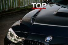 8820 Капот с жабрами на BMW 3 F30