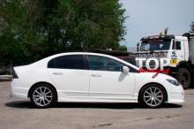 8832 Передний бампер Ings +1 Extreem на Honda Civic 4D (8)