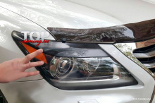 8840 Реснички широкие на Lexus LX570 UJR 200