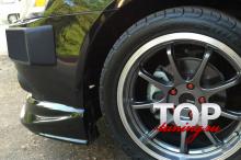 8841 Юбка на передний бампер Zodiak ABS (РЕСТАЙЛИНГ) на Mitsubishi Lancer 10 (X)