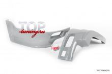 8903 Накладки на задний бампер JAOS на Toyota Land Cruiser Prado 150