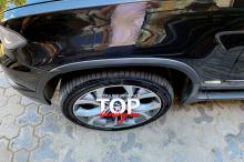 8938 Расширители арок 4.6 IS Окрашенные на BMW X5 E53