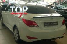 8953 Спойлер Ambassador на Hyundai Solaris