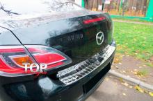 Протектор заднего бампера Guard на Mazda 6 GH