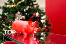 Новогодняя игрушка поросенок купить