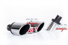 Купить насадку на глушитель большую - онлайн магазин топ тюнинг