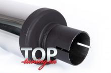 9046 Насадка на глушитель с сильным наклоном MAGNUM Sport 120, 100, 90, 80 MM