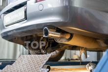 9049 Насадка на глушитель с наклоном MAGNUM Premium 80 mm. для Mitsubishi Lancer X