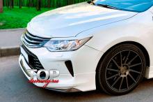 Молдинг антихром в цвете Белый Перламутр (070) для Тойота Камри XV50