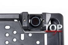 Рамка для номеров Future 3 в 1 с камерой заднего вида и парктрониками