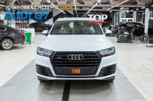 Установка электронной выхлопной системы ТОР на Audi Q7