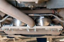 9107 Электронная выхлопная система THOR на BMW X5 F15