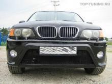 Обвес - тюнингHRT с расширением кузова для BMW X5 E53.