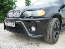 Обвес - тюнингHartge с расширением кузова для BMW X5 E53.