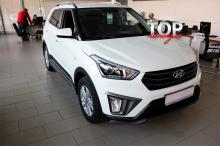 9123 Накладки на пороги Ambassador на Hyundai Creta