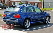 Задний бампер, обвес Аэро, тюнинг BMW X5 E53