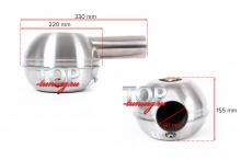 Установочные размеры (габариты генератора звучания выхлопа)