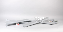 Комплект порогов (накладки на двери) - Модель Atom - Тюнинг Ниссан Мурано (Z50)
