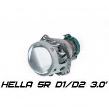 9215 Штатная биксеноновая линза Hela 5R 3.0 дюйма, круглая, под D1S/D2S