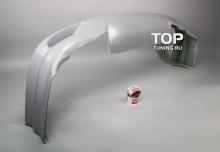 Юбка переднего бампера - Модель ChargeSpeed - Тюнинг Субару WRX в кузове GC8.
