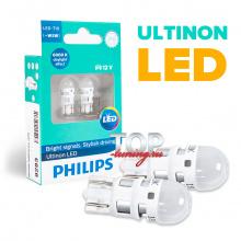 9283 Светодиодные габаритные огни Philips Ultinon LED W5W
