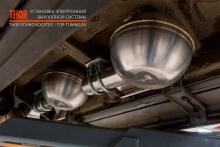 9382 Электронный выхлоп THOR на Mercedes G-Class W463