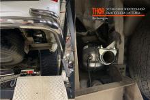 9392 Активный звук выхлопной системы THOR на Toyota Land Cruiser 200