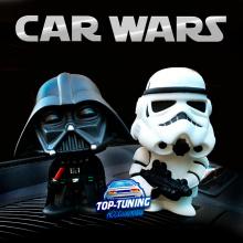 9398 Фигурки на панель приборов Car Wars болванчик