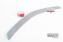 ПЕРЕДНИЙ БАМПЕР AUTO EXE + НАКЛАДКА (ДЕФЛЕКТОР) НА КАПОТ ТЮНИНГ МАЗДА СХ-7 (РЕСТАЙЛИНГ, ДОРЕСТАЙЛИНГ)