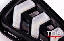 9475 ДХО с динамическими поворотниками на Toyota Camry V50 (7)