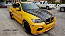 Передний бампер BMW X6 - Тюнинг Hamann - Обвес TYCOON EVO M Wide Body