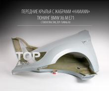 949 Передние крылья - Обвес Hamann Tycoon EVO M на BMW X6 E71 Готовая работа