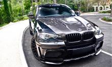 пример установки 949 Передние крылья - Обвес Hamann Tycoon EVO M на BMW X6 E71