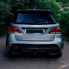 9523 Задний бампер с диффузором - обвес PRIME 63 на Mercedes GLE W166