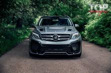 9526 Капот с жабрами - обвес PRIME 63 на Mercedes GLE W166