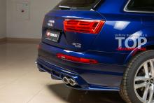 9527 Насадки на выхлопную систему - обвес Renegade на Audi Q7