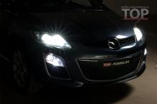 LED ПРОТИВОТУМАННЫЕ ФОНАРИ  MTF LIGHT FL12MZ OEM MAZDA CX-7