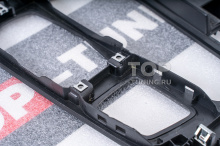 9665 Карбоновая накладка M Performance на центральную консоль BMW X5 X6