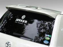 Тюнинг Toyota Land Cruiser 200 (дорестайлинг) - Спойлер BRANEW.