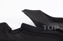 9837 Передние всепогодные коврики с бортиком для BMW G05 / G06 / G07