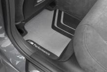 ДООСНАЩЕНИЕ M PERFORMANCE ДЛЯ BMW КОВРИКИ M PERFORMANCE ДЛЯ BMW 1- СЕРИИ F21 И 2 - СЕРИИ F22 F87 M2 ОРИГИНАЛ / ЗАДНИЕ КОВРИКИ / ЦЕНА ЗА КОМПЛЕКТ / АРТ. 51472409930