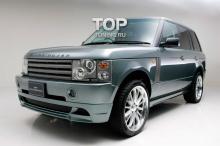 Тюнинг Range Rover Vogue (дорестайлинг) - Юбка переднего бампера WALD.