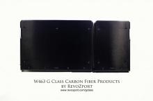 Специальные карбоновые крылья также являются функциональными: они позволяют использовать сверхширокие колесные диски, и при желании RevoZport может установить на G63 или G65 колеса от G 500 4×4².   Переднюю часть украшает капот, изготовленный на зака