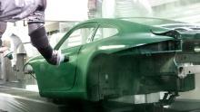 Праздничный ирландский зеленый 911 Carrera S в конечном итоге попадет в музей Porsche.