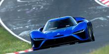 Электрокар NIO EP9 Electric Car установил новый рекорд Нюрбургринга.