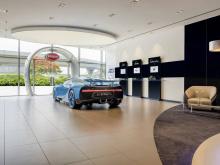 Bugatti только что открыл жемчужину своей выставочной коллекции в Дубае.
