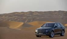 Mulliner оснастил самый быстрый в мире и самый роскошный внедорожник автомобильным комплектом для соколиной охоты.